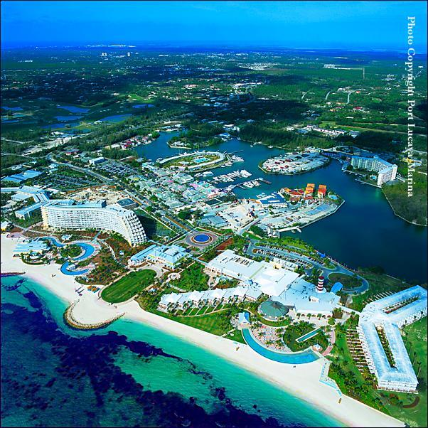 Port Lucaya And Our Aerial View Pelican Bay Hotel